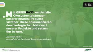GREENPASS GmbH - 🎤 WAS UNSERE PARTNER SAGEN ...   FOLGE XXIV 🏡