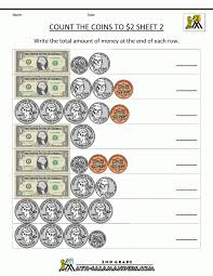 Grade Math Worksheets Counting Money 1st Canadian Kindergarten ...