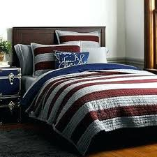 rugby stripe bedding grey and white complete set with sheets 8 piece rugby stripe bedding pottery barn black and white twin