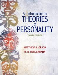 personality theories olson hergenhahn introduction to theories of personality an 8th