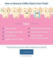 Does coffee permanently stain teeth? How To Remove Coffee Stains From Teeth Floss Gloss Dental Dentist Edmonton