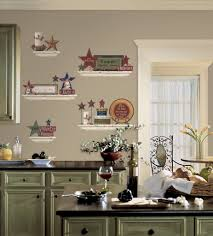 Decorating Kitchen Shelves Image 2 French Country Kitchen Decorating Ideas Decor Image