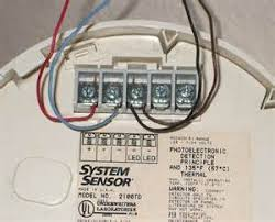 system sensor conventional smoke detector wiring diagram images connecting 2 wire smoke detectors home security systems