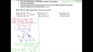 3 2 solving 3x3 systems of equations
