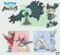 Mega evolution seems unlikely to return at any rate but here's my take on  the megas for the Legends starters!: pokemon
