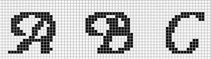 Alphabet Block Letters On Graph Paper Konel Kaptanband Co
