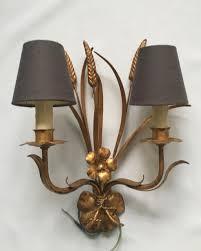 pair of wheatsheaf wall lights the vintage chandelier company the vintage chandelier company