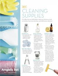 our list of diy cleaning solutions
