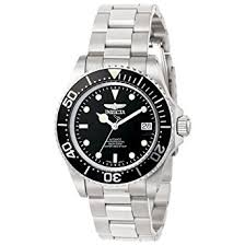 invicta pro diver men s automatic watch black dial display invicta pro diver men s automatic watch black dial display and silver stainless steel bracelet 8926ob
