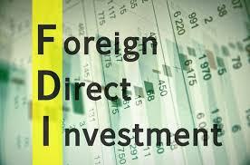 foreign direct investment (FDI) �� लि� �म�� परिणाम