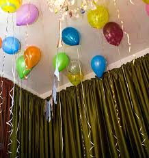 room decoration for birthday party balloon ribbon ribbon tied lashing belt decorated birthday celebration marry marriage room decoration for birthday