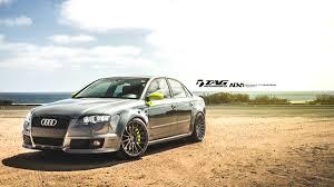 Verde Scandal + Daytona Grey / Audi RS4 on ADV Wheels / TAG ...
