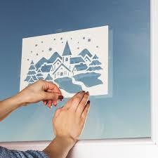 Anleitung Fensterbilder Mit Fenster Schnee Ideen Mit Herz