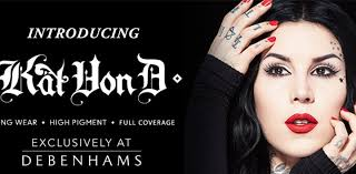 kat von d beauty arrives in lakeside