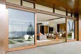 large sliding patio doors: large sliding glass doors with wooden frame