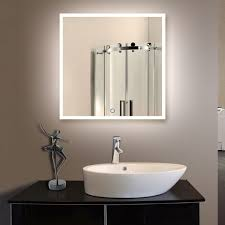 vanity mirror 36 x 60. 25; 36 x in. square led mirror, touch button (dk-od- vanity mirror 60 c