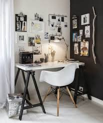 black white home office inspiration. small home offices inspirations black and white office inspiration brabbu