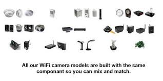 wifi ip wireless spy camera hidden pinhole lens by scs enterprises ®