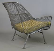 wrought iron vintage patio furniture. Awesome Gray Iron Chair With Yellow Cushion Seat By Woodard Furniture For Patio Ideas Wrought Vintage R