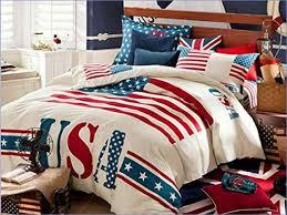 american flag forter set