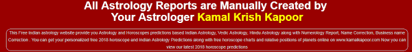 Indian Astrology Website Free Horoscope Prediction By Date