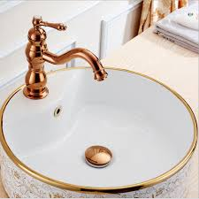 nice rose gold without overflow brass bathroom lavatory sink pop up drain bathroom basin sink use bathroom products accessories in drains from home
