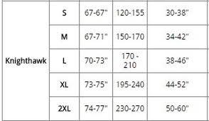 Scubapro Knighthawk Size Chart Scubapro Knighthawk Bcd
