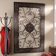 large outdoor medallion scroll tuscan
