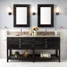 72 benoist reclaimed wood console double vanity for undermount sink antique pine bathroom
