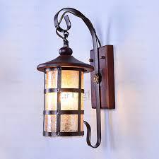 mediterranean style lighting. Mediterranean Style Wooden Fixture Light Wall Sconce Lighting T