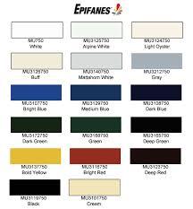 Epifanes Colour Chart Epifanes Monourethane 3165 Deep Green 750 Ml Mu3165