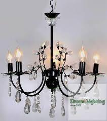 candle crystal chandelier pendant lights