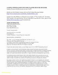 Free Resume Templates For Macbook Pro Lovely 25 Resume Builder For