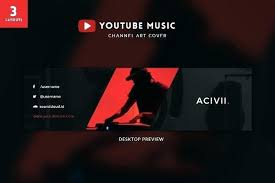 Channel Art Template Banner Template Responsive Channel Art Download Blank