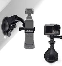 <b>STARTRC</b> Pocket 2 Suction Cup Mount, Full Rotation Car: Amazon ...