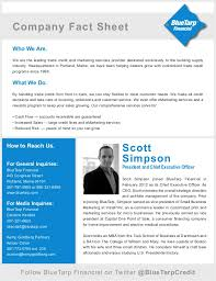 Company Fact Sheet Sample Company Fact Sheet
