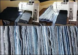 denim rag rug homemade blue jean denim rag rug craft project denim rag woven rug