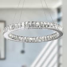 lighting magnificent crystal ring chandelier 1 sparkling block jpg