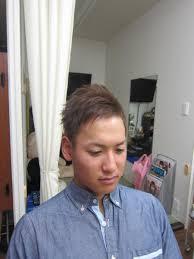 メンズ ベリーショート アシメスタイル Hair Salon Laughヘアー