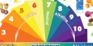 Alkaline Ph Level Chart Alkaline Acidic Foods Chart The Ph Spectrum