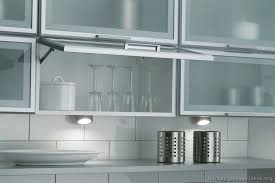 kitchen glass cabinet doors modern