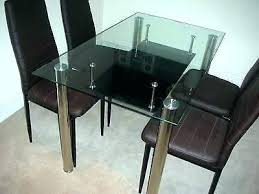 6 seater glass dining table sets and chairs full size of modern set with round in new garden chai
