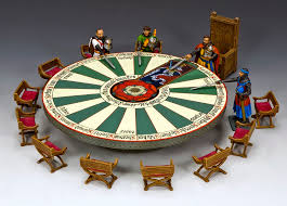 description king country mk143 round table