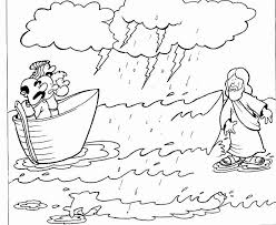 13 Unique Jesus Walks On Water Coloring Page Coloring Page