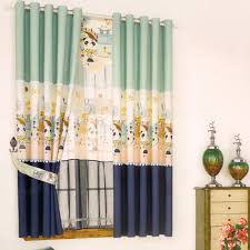 Cute Bay Window Curtain Ideas For Kids Room