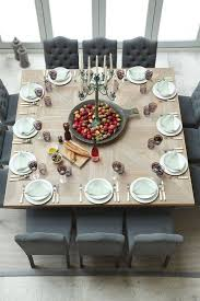 table square dining room space vierkante eettafel i love my interior