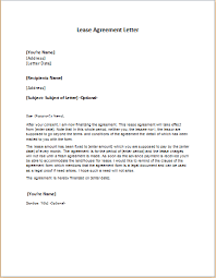lease agreement letters 20 elegant letter agreement lease images complete letter template
