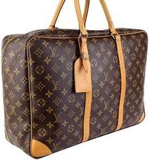 louis vuitton luggage set. louis vuitton lv sirius 45 monogram luggage keepall brown travel bag set