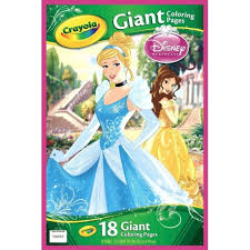 18 Giant Coloring Pages Disney Princess Cheekaboo Kids Apparels