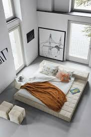 Minimalismus Schlafzimmer In Weis Malerei Wohndesign